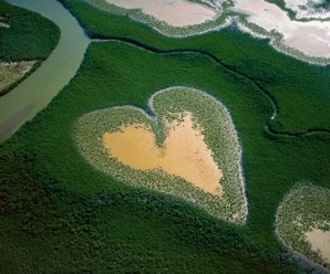 Ten Amazing Heart Shaped Lakes You'll Fall in Love With