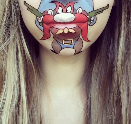 Top 10 Amazing Lip Art Creations