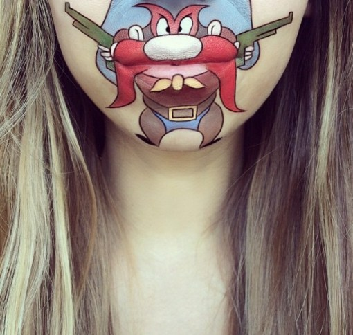 Top 10 Amazing Lip Art Creations