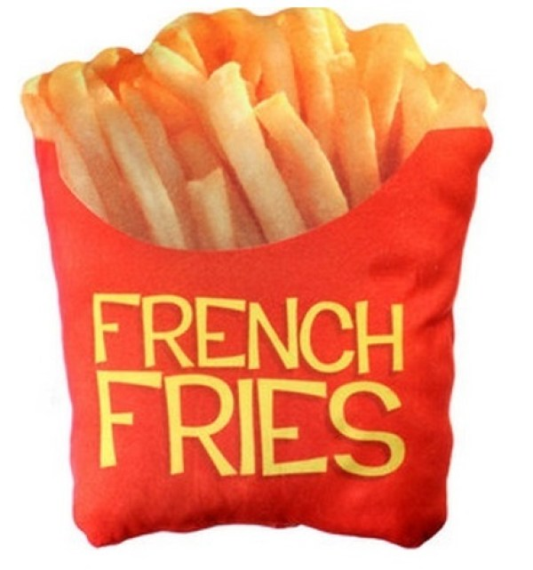French Fry Pillow