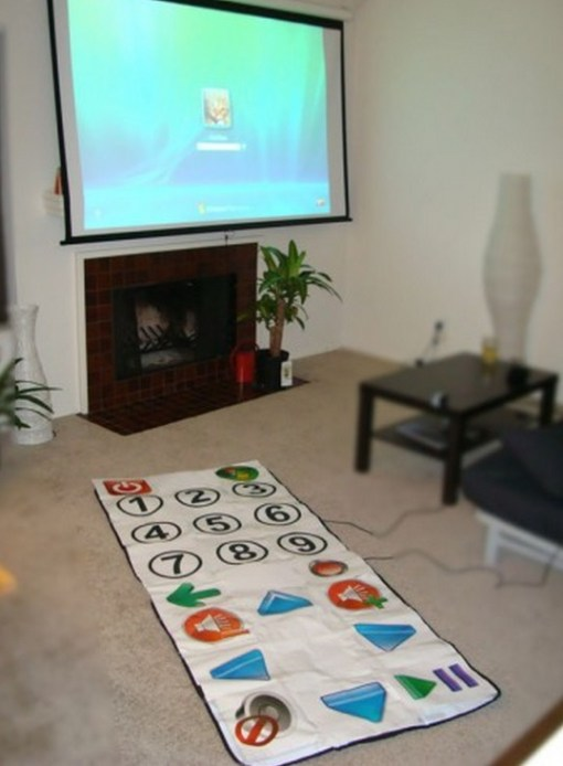 Dance Mat TV Remote Control