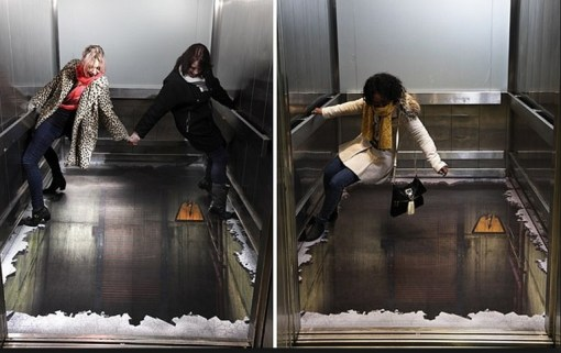 Top 10 Amazing Examples of 3D Art in Lifts (Elevators)