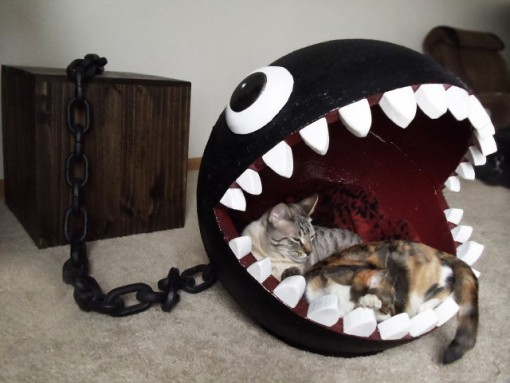 Top 10 Nerdy and Unusual Cat Beds