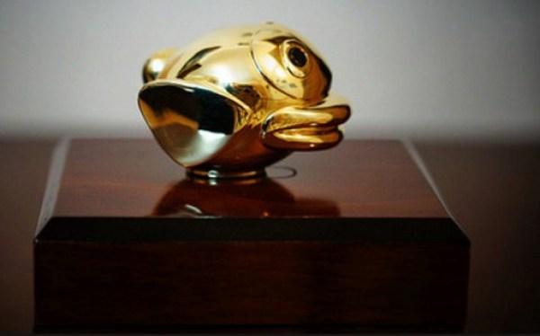 Flappy Bird Gold 3D Figure