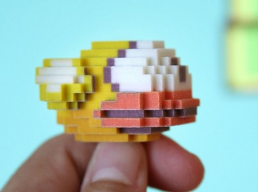 Flappy Bird 3D Print