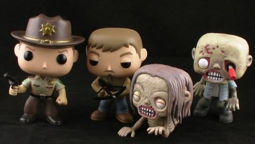The Walking Dead Pop! Figures