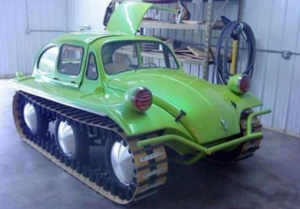 Top 10 Snowproof Trucks and Cars With Tank Tracks