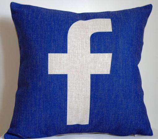 Facebook Cushion Cover