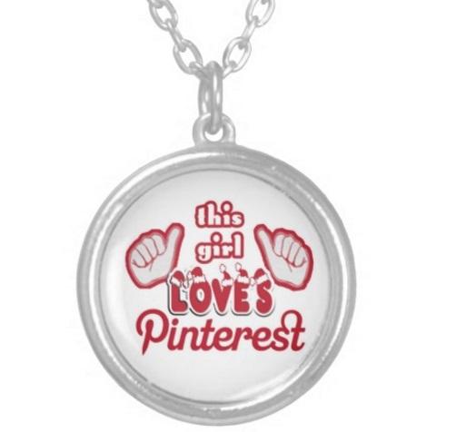 Pinterest Pendant Necklace