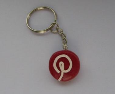Pinterest Keychain
