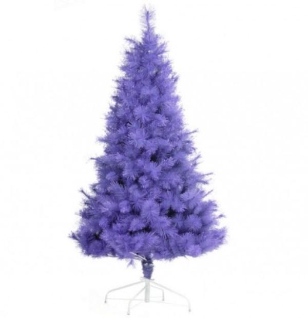 Contemporary Purple Coloured Christmas Tree