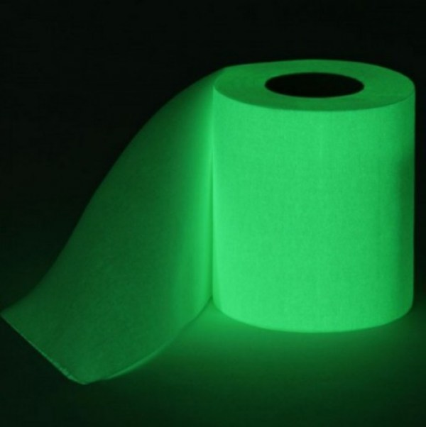 Glow-in-the-Dark Toilet Paper / Loo Roll