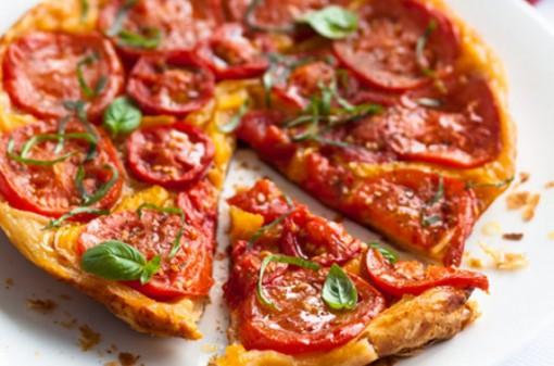 Tomato and Pepper Tarte Tatin
