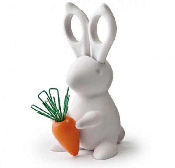 Desktop Bunny Scissors Set