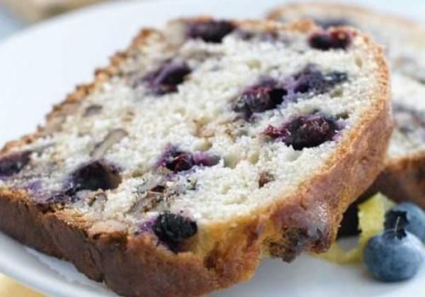 Blueberry, Lemon & Walnut Loaf