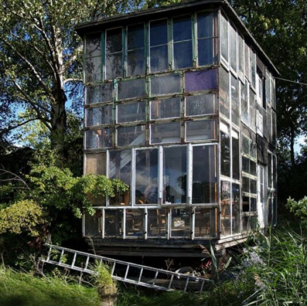 Top 10 Houses Made From Recycled Materials