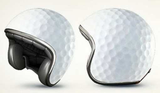 Golf Ball Crash Helmet