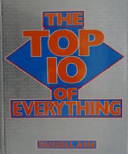 Top 10 of Everything 1989 - By Russell Ash