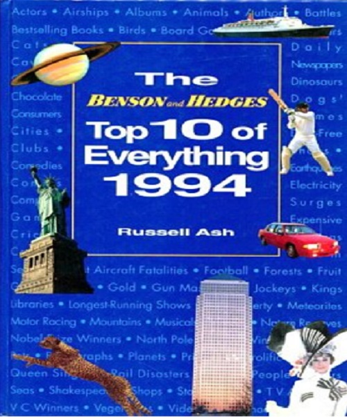 Top 10 of Everything 1994 (Benson & Hedges) - By Russell Ash