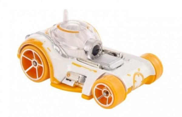 BB-8 Hot Wheels Character Car