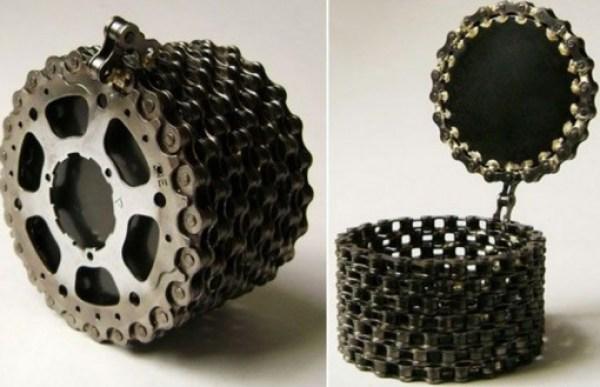 Bicycle Chain Jewellery Box