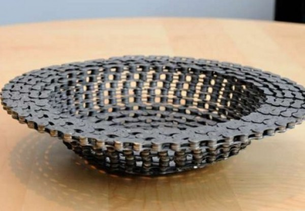 Bicycle Chain Fruit Bowl