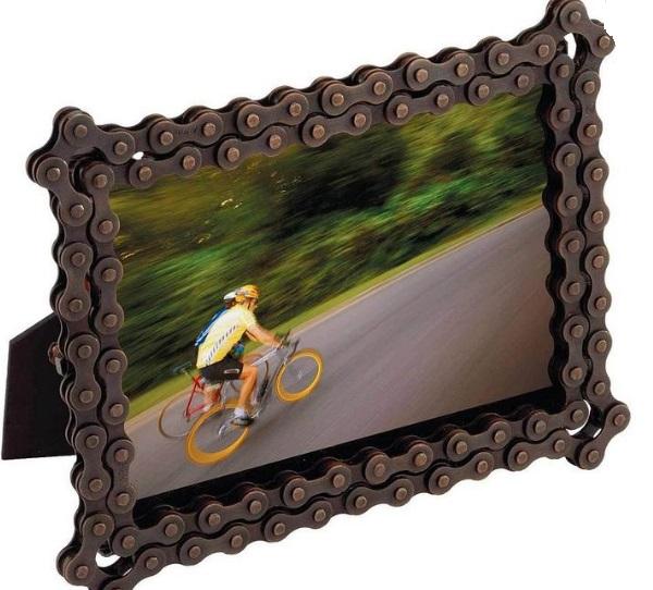 Bicycle Chain Photo Frame