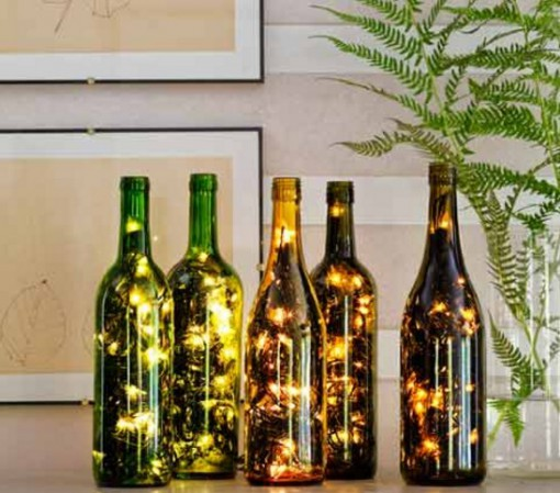 Top 10 Ways To Recycle and Reuse Empty Wine Bottles