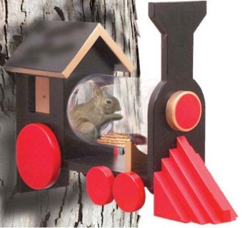 Train Squirrel Feeder
