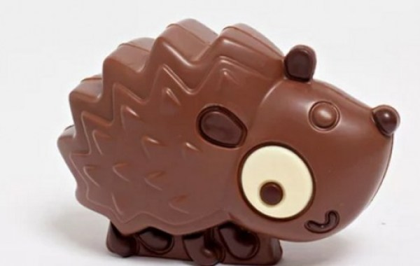 Hedgehog Chocolate Gift for Easter