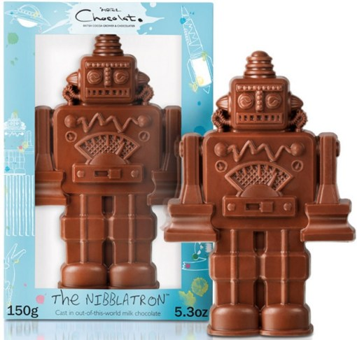 Top 10 eggcellent novelty chocolate gifts for easter robot chocolate gift for easter negle Gallery