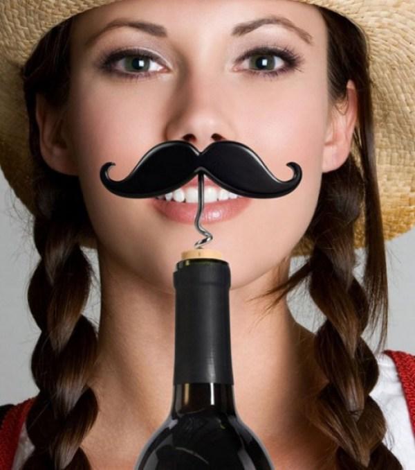 Handlebar Moustache Corkscrew