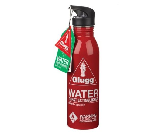 Fire Extinguisher Water Bottle
