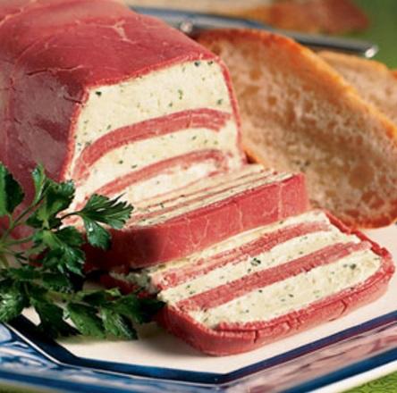 Corned Beef Horseradish Terrine