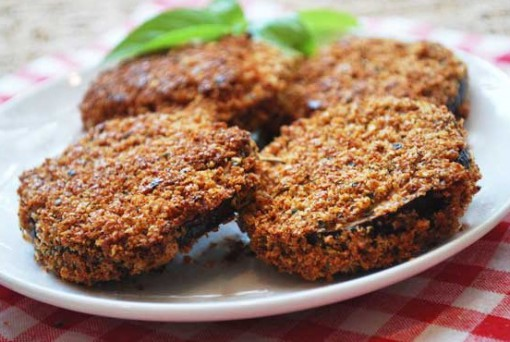 Breaded Baked Eggplant