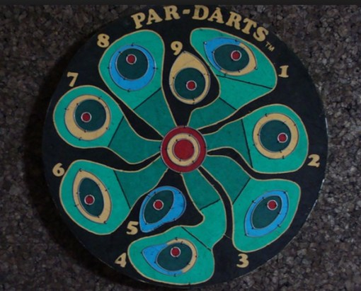 Golf Dartboard