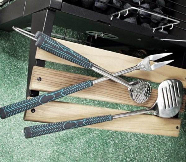 Golf BBQ Grilling Tools Set