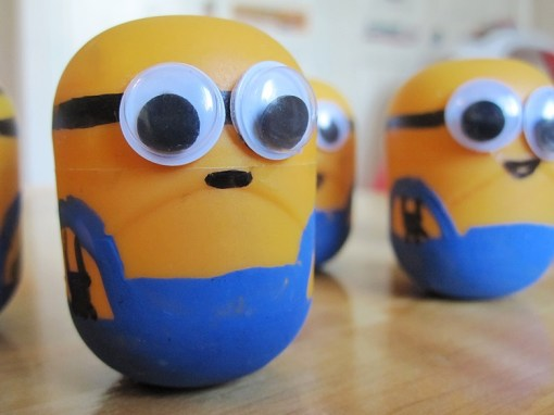 Minions Made From Kinder Surprise Containers