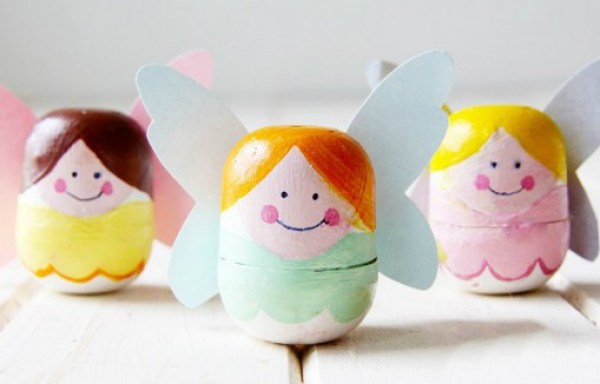Tooth Fairy Box Made From Kinder Surprise Containers