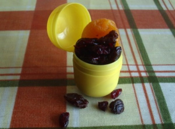 Ration / Snack Pods Made From Kinder Surprise Containers