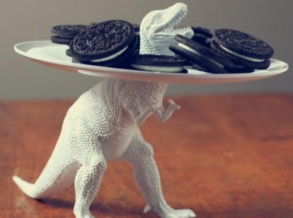 Toy Dinosaur Serving Dish