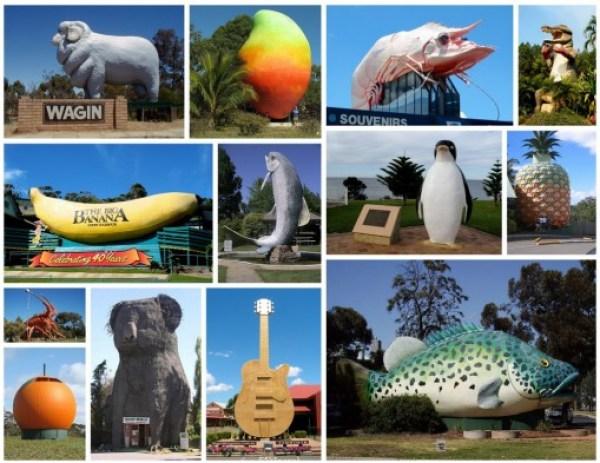 Australia's Big Things, Australia