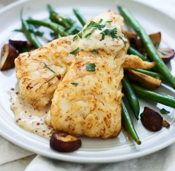 Brown Butter Seared Haddock