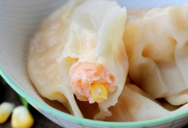 Shrimp and Corn Dumplings