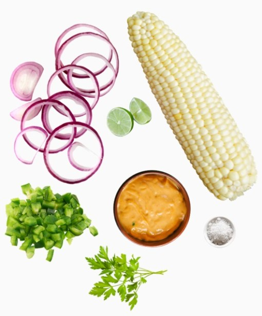 Just Roasted Corn Salad