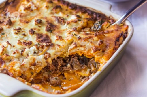 Sweet Potato Moussaka