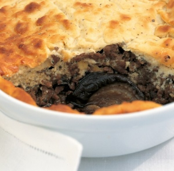 Moussaka With Roasted Aubergines and Ricotta