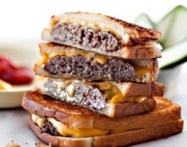 Cheeseburger Grilled Sandwich