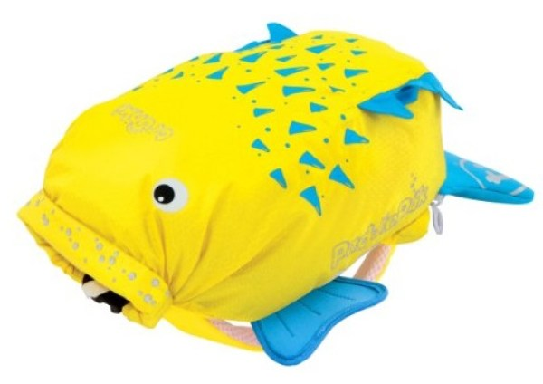 Pufferfish Water-Resistant Backpack