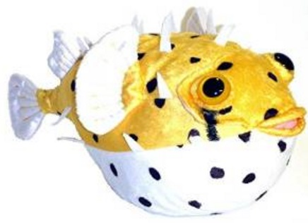 Pufferfish Stuffed Animal Toy